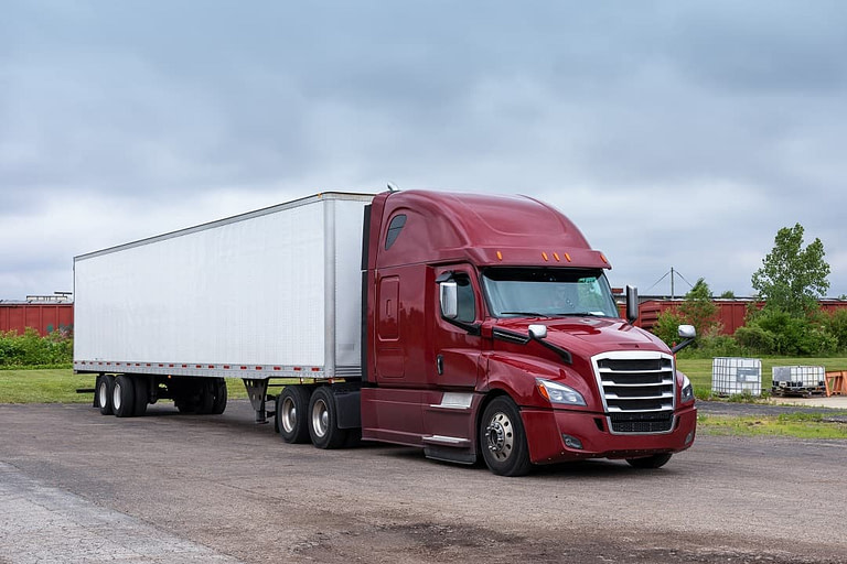 Truck in Boston area