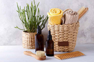 Towels and Hair products