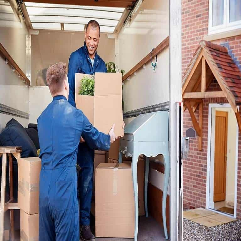 Affordable movers Bend, OR are loading goods