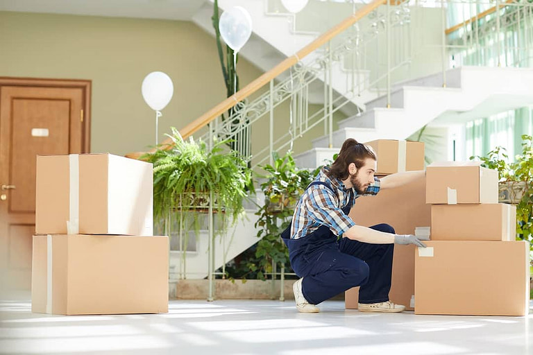 A crew of Beaverton Movers Is Relocating Goods