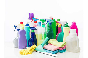 Toilitries cleaning supplies