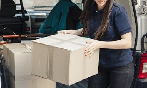 mover loading/unloading boxes